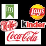 Primeras marcas de productos de Vending